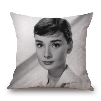 Leeva Square Decorative Cotton Linen Throw Pillow Case Cushion Cover, Elk Pattern, Christmas